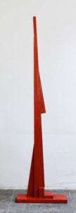 Rote Figur, 2009, Holz
