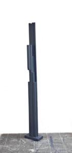 Transformator II, 2010, Holz,blau, 210 - 29,5 - 20 cm 5800 euro